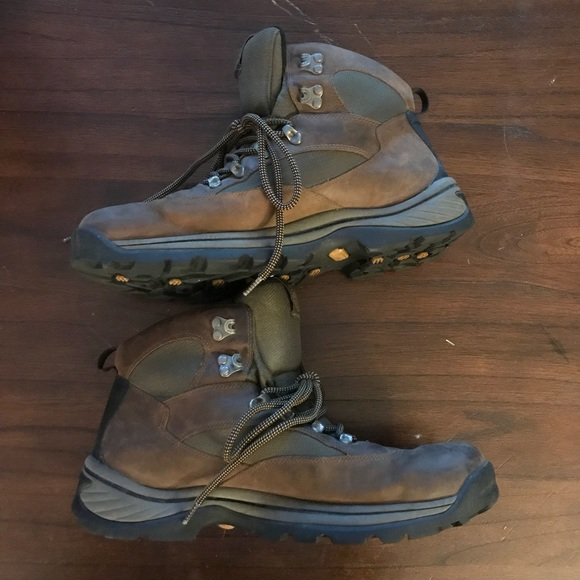 Timberland Plymouth Trail Waterproof Hiking Boots.  M 5ac9497531a3768ee698fabf 0b6d32df21e